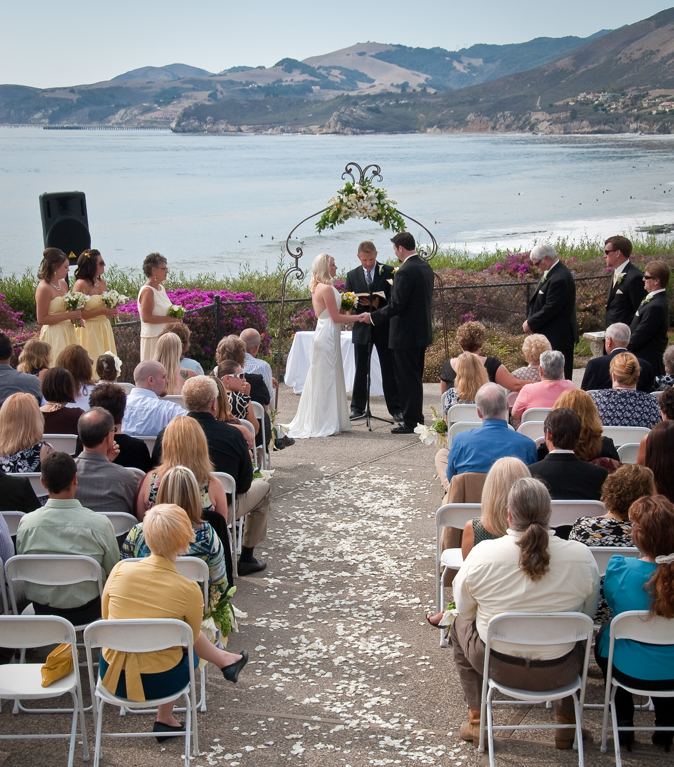 Couple S Wedding Ceremony And Reception Held At The Beach: Tony A. Hertz Wedding Photography